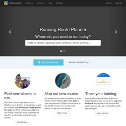 Running Routes - WalkJogRun