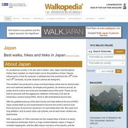 Best walks, hikes and treks in Japan