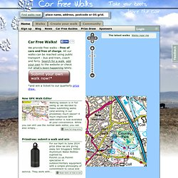 Free Walks and Hikes in England, Scotland and Wales - Car Free Walks