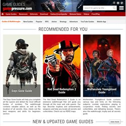 Game Guides, Walkthroughs, Solutions, Maps, Codes and game FAQs for PC and Video Games