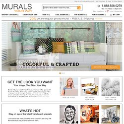 Wall Murals, Wallpaper Murals, Custom Murals- Murals Your Way