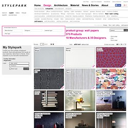 wall papers - Products at Stylepark