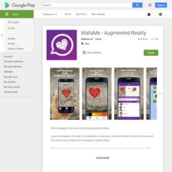 WallaMe - Augmented Reality - Apps on Google Play