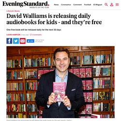 David Walliams is releasing daily audiobooks for kids - and they're free