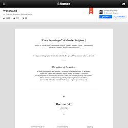 Wallonia.be on Behance