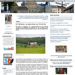 SUNDINFO 23/06/15 En Wallonie, un agriculteur sur 10 est bio