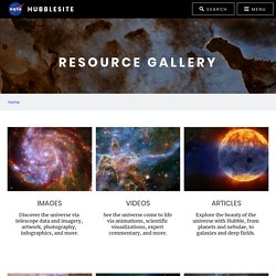 Hubble Site Gallery