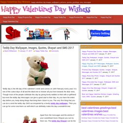 Teddy Day Wallpaper, Images, Quotes, Shayari and SMS 2017