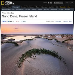 Sand Dune Photo, Fraser Island Wallpaper