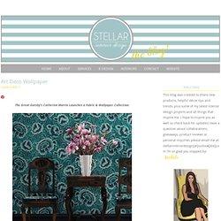 Art Deco Wallpaper - Stellar Interior Design