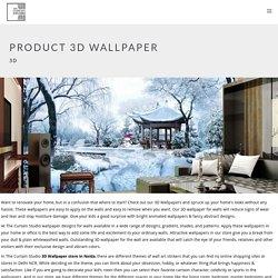 Buy 3D Wallpaper in Noida at Best Price - Thecurtainstudio