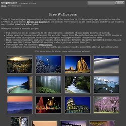 Free Wallpapers pictures from the Terra Galleria photo gallery