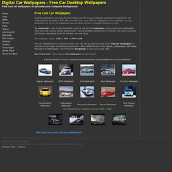 Car Wallpapers - Audi, BMW, Mercedes, Porsche and Volkswagen Dig