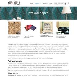 Buy waterproof PVC Wallpaper Online at cheap price