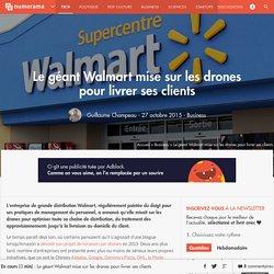Le géant Walmart mise sur les drones pour livrer ses clients - Business