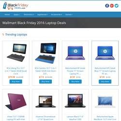 Grab Walmart Black Friday Laptop Deals at iblackfridaydeals.com