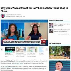 Walmart wants to buy TikTok. Here's why