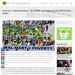Face à la «Walmartisation» du monde, les employés de Walmart font grève