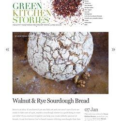 Walnut & Rye Sourdough Bread