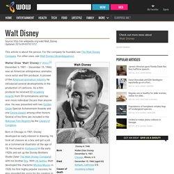 Walt Disney - WOW.com