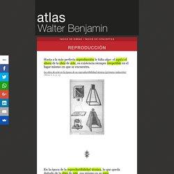 Atlas Walter Benjamin - reproducción