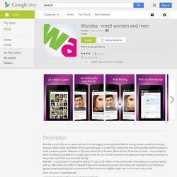 Wamba - meet women and men - Android Apps on Google Play
