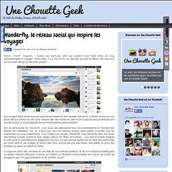 Wanderfly, le réseau social qui inspire les voyages