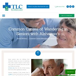 Common Causes of Wandering in Seniors with Alzheimer's