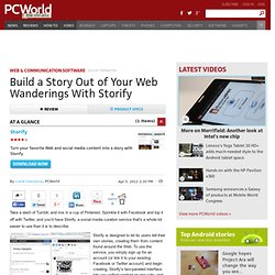 Storify description, Social Networking Downloads List By 30 Day Change | PCWorld