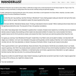 About Wanderlust Productions