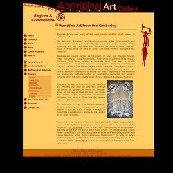 Wandjina Art from the Kimberley - Aboriginal Art Online