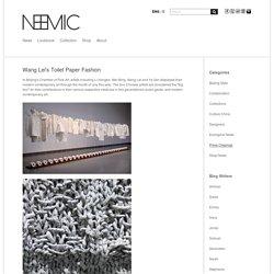 Wang Lei's Toilet Paper Fashion