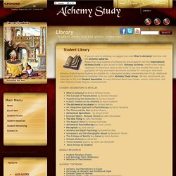 Alchemy Study