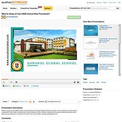 Want to Study at Top CBSE School Near Panchkula?