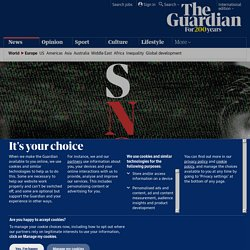'They wanted me gone': Edward Snowden tells of whistleblowing, his AI fears and six years in Russia