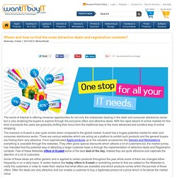 WantITBuyIT Blog - Where and how to find the most attractive deals and registration contests?