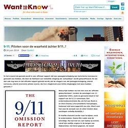 Piloten voor de waarheid áchter 9/11..!