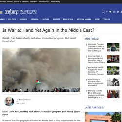 Latest Middle East News
