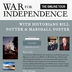 War for Independence History Tour