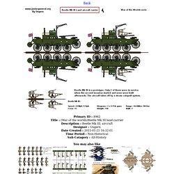 (War of the worlds)Beetle Mk III land carrier