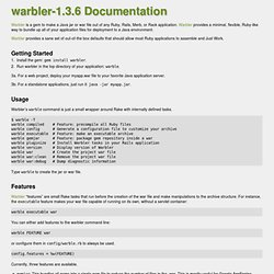 File: README.txt [caldersphere's warbler-1.3.3 Documentation]