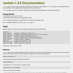 File: README.txt [caldersphere's warbler-1.3.3 Documentation]