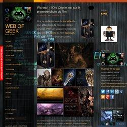 Warcraft : l'Orc Orgrim est sur la première photo du film !