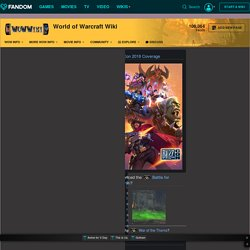 World of Warcraft universe guide - WoWWiki