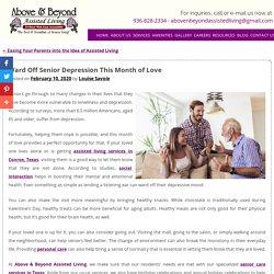 Ward Off Senior Depression This Month of Love