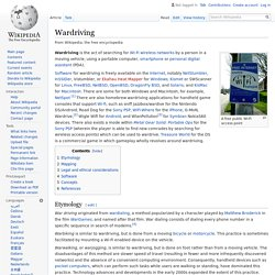 Wardriving - Wikipedia