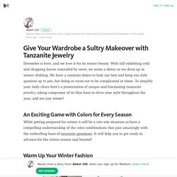Give Your Wardrobe a Sultry Makeover with Tanzanite Jewelry