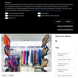 The Closet Accessory For Neat Wardrobe
