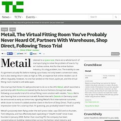 Metail, The Virtual Fitting Room You've Probably Never Heard Of, Partners With Warehouse, Shop Direct, Following Tesco Trial