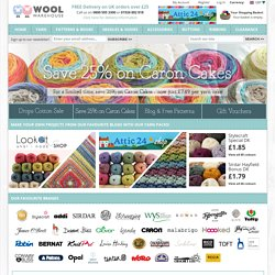 Home - Wool Warehouse - Buy Yarn, Wool, Needles & Other Knitting Supplies Online!